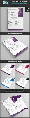 cv builder 13 best creative cv templates cv builder images on