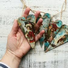best vintage wooden ornaments products on wanelo