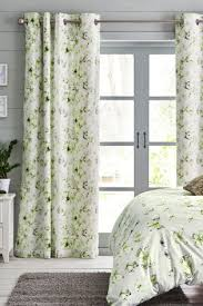 buy floral butterfly blackout eyelet curtains from the next uk
