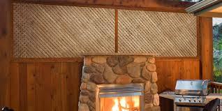 wood lattice dimensions