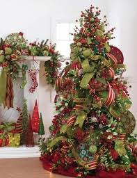 christmas tree ribbon christmas tree ribbon decoration ideas designcorner