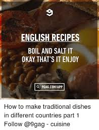 cuisine okay recipes boil and salt it okay that s it enjoy q 9gagcomiapp