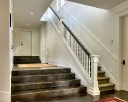 Banister Research Dark Stained Banister Houzz