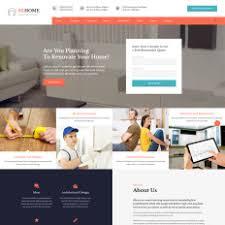 home renovation websites home remodeling templates templatemonster