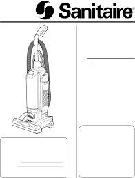 sanitaire vacuum cleaner sc5700 series user guide manualsonline com