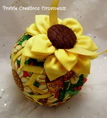 prairie creations ornaments fabric flowers and scrappy bows