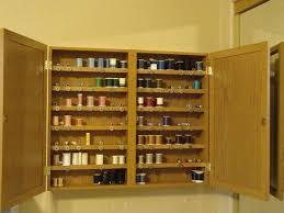 Craft Room Storage Furniture - sewing thread organizer and storage hometalk