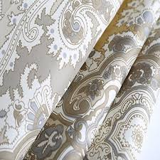 Gray Paisley Shower Curtain by Welwo Shower Curtain Stall Shower Curtain Set Paisley Shower