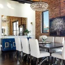 white lacquer buffet contemporary dining room blanco interiores