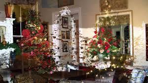martha stewart decorated christmas trees ne wall
