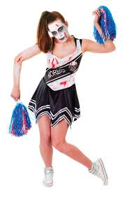 Cheerleader Costume Halloween Ladies Zombie Cheerleader Costume Twd Halloween Living Walking
