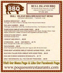 Bull Bbq Island Bull Island Bbq Home Poquoson Virginia Menu Prices