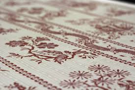 Toile De Jouy Decoration Traditional Wallpaper Toile De Jouy Pattern Fabric Look