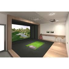 full swing s8 golf simulator game room guys