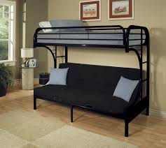 Black Metal Futon Bunk Bed Bunk Beds