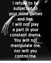 Mind Games Meme - i refuse to b subjected your mind games and lies i will not play a