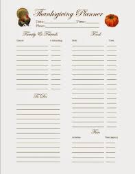 kisses thankgiving planning and printables