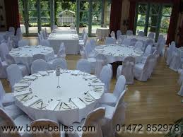 wedding seat covers white chair covers with silver sashes used at mandy and rays