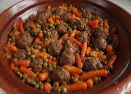 cuisine v馮騁arienne recettes de la semaine tagine de boulettes de viande petits pois et carottes