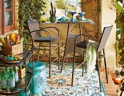 Outdoor Furniture Small Space Small Outdoor Spaces Pier 1 Imports
