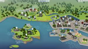 Fallout 3 Interactive Map by The Sims 4 Get Together Windenburg Interactive Map Sims Community