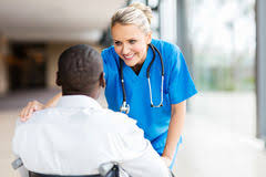 Doctor Comforting Patient Doctor Comforting Female Patient Stock Photo Image 44261556