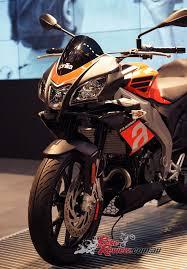 aprilia motocross bike 2017 aprilia tuono 125 u0026 rs125 at intermot bike review