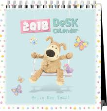 2018 easel desk calendar boofle easel calendar 2018 calendar club uk