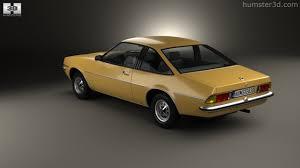 1975 opel manta 360 view of opel manta b 1975 3d model hum3d store