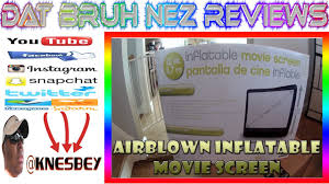 airblown inflatable movie screen youtube