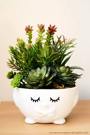 cute pots for plants update a dollar store easter container to look more modern so that