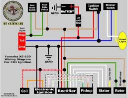 xs650 wiring diagram wiring diagram byblank