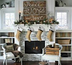 fireplace decorating ideas for christmas home design