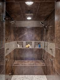 Tile Shower Ideas For Small Bathrooms Shower Tile Ideas Great Mix Of Tile In This Shower Designed By
