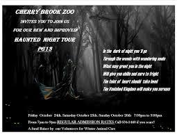 halloween is coming to the cherry brook zoo in saint john nb