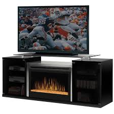 amazon com dimplex marana tv stand with electric fireplace in