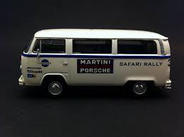 volkswagen safari vw t2 transporter porsche martini safari 1978 white 1 43 premium