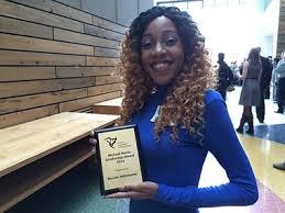 long hair scholarship sheridan journalism student wins prestigious scholarship from