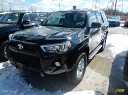 toyota 4runner 2017 black 2017 midnight black metallic toyota 4runner sr5 premium 4x4