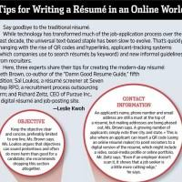 Tips For Writing A Resume Rising Star Resumes Lynda Spiegel Professional Resume Writer