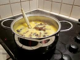 cuisiner les morilles fondue aux morilles la cuisine de sucrette