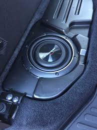 Dodge Ram Cummins 1500 - alpine oem subwoofer and dash speaker upgrade dodge cummins