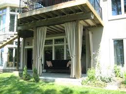 Clear Vinyl Patio Enclosures by Outdoor Patio Curtains Ideas U2013 Smashingplates Us