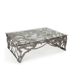 Wohnzimmertisch Metall Holz Couchtisch Silber Architektur Glas Com Forafrica 38441 Haus Ideen