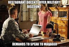 Military Wives Meme - is the current generation of military 5 years or less too