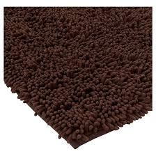 Maroon Bath Rugs Solid Memory Foam Bath Mat Brown 20