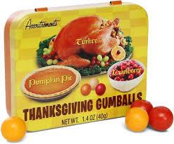 thanksgiving flavored gumballs popsugar food