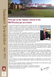 old wheatleyans newsletter issue 8 by bablake issuu