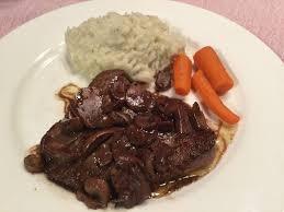 cuisiner un chevreuil steak de chevreuil aux chignons cuisiner avec micheline