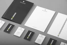 corporate design corporate identity modern corporate identity for avelier by artentiko